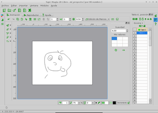 2D Animation design and authoring tool