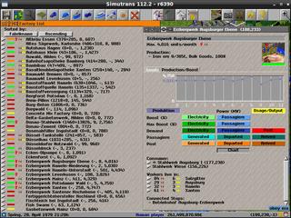 Screenshots of package simutrans