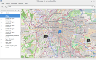 map viewer for the GNOME desktop