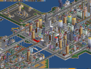 Screenshots of package openttd