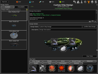 Screenshots of package freeorion