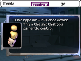 Screenshots of package freedroid