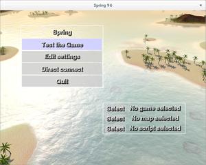 Screenshots of package spring