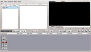 Screenshots of package flowblade