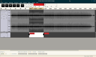 Screenshots of package audacity