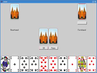 Screenshots of package xskat
