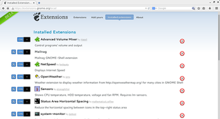 Screenshots of package iceweasel