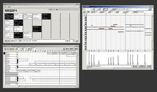Screenshots of package seq24