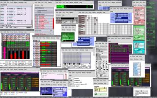 Screenshots of package puredata