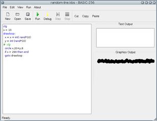 Screenshots of package basic256