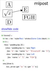Screenshots of package mlpost