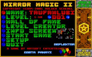 Screenshots of package mirrormagic