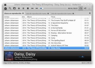 Screenshots of package audacious