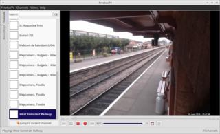 Screenshots of package freetuxtv