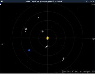 Screenshots of package qonk