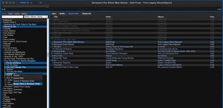 Screenshots of package groovebasin