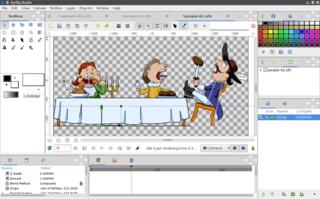 Screenshots of package synfigstudio