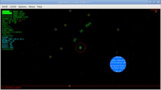 Screenshots of package spacezero