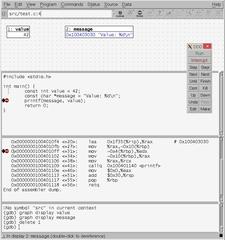Screenshots of package ddd