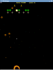 Screenshots of package xgalaga