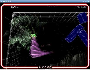 Screenshots of package mu-cade