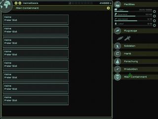 Screenshots of package ufoai
