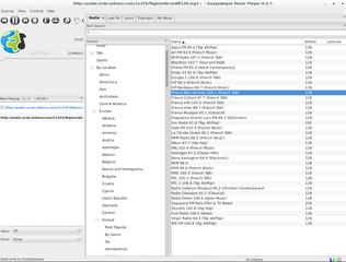 Screenshots of package guayadeque