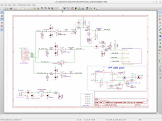 Screenshots of package kicad