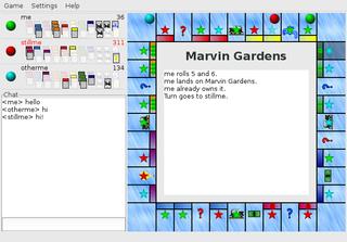 Screenshots of package gtkatlantic