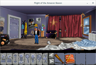 Screenshots of package flight-of-the-amazon-queen