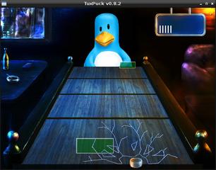 Screenshots of package tuxpuck