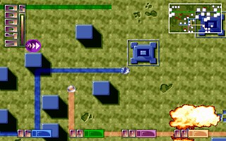Screenshots of package heroes