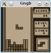Screenshots of package gngb