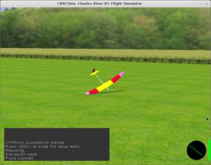 Screenshots of package crrcsim