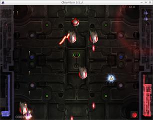Screenshots of package chromium-bsu