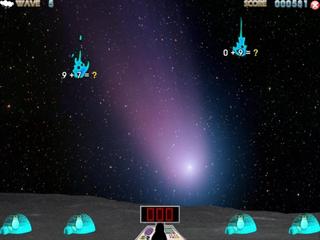 Screenshots of package tuxmath