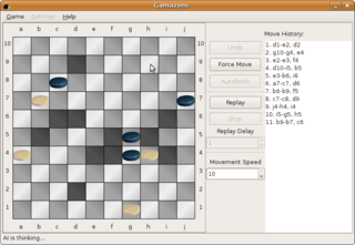 Screenshots of package gamazons