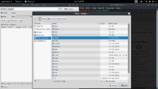 Screenshots of package furiusisomount