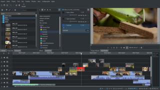 Screenshots of package kdenlive