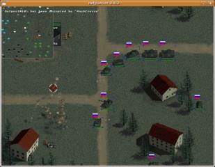 Screenshots of package netpanzer