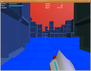 Screenshots of package enemylines3