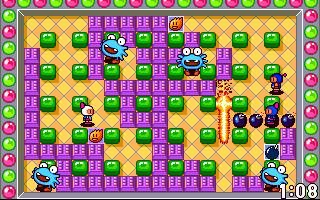 Screenshots of package mrboom