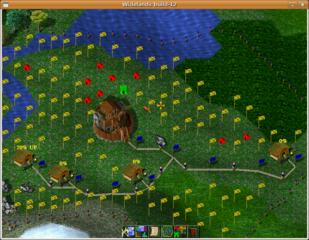 Screenshots of package widelands