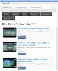 Screenshots of package smtube