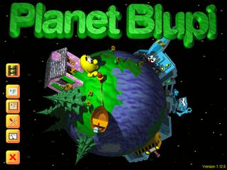 Screenshots of package planetblupi