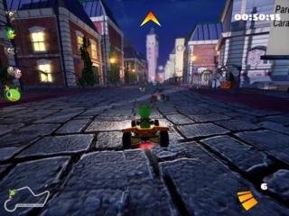 Screenshots of package supertuxkart