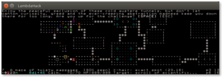 Screenshots of package lambdahack