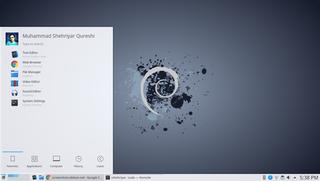 Screenshots of package task-kde-desktop