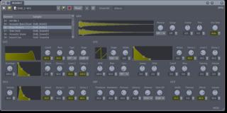 Screenshots of package drumkv1