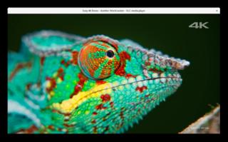 Screenshots of package vlc